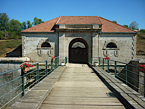 Entrance of the fort of Peigney, 25-05-2019